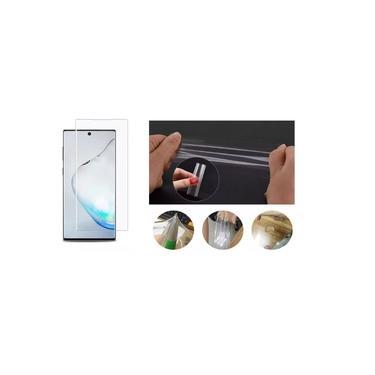 Película De Gel Flexível Cobre 100% Display Samsung Galaxy Note 10 N970 Tela 6.3