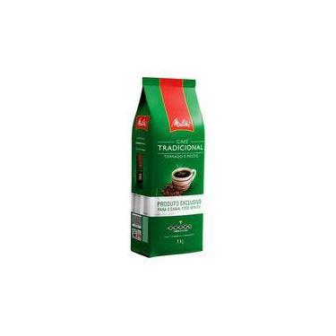 Café Em Pó Tradicional - Pacote 1 Kg - Melitta