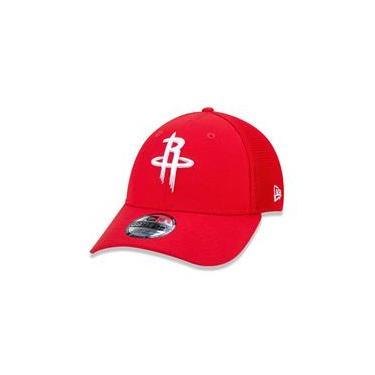 Bone 39Thirty Nba Houston Rockets City Series Aba Curva Vermelho New Era