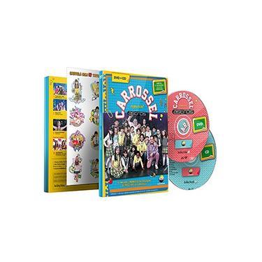 CD+DVD Carrossel Especial Astros