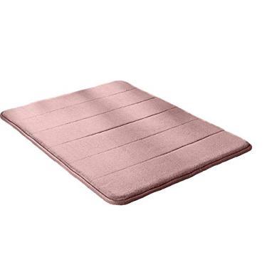 Imagem de Jogo 2 Tapete para Banheiro Antiderrapante Soft 40 x 60cm Cor:Rosa