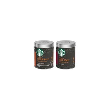 Imagem de Kit 2 Latas Café Solúvel Instantâneo Starbucks 90G Cada