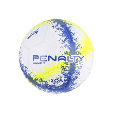 Bola de Futebol de Campo Penalty RX R3 N4 Fusion - BRANCO AZUL Penalty 41c471877b17d
