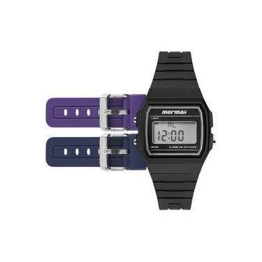 65b8e49726b Relógio Mormaii Troca Pulseira Vintage Freestyle Preto - Mojh02ah 8p