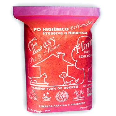 Pó Higiênico Easy Pet & House Floral - 1 Kg