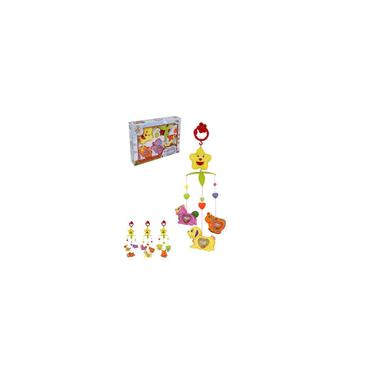 Imagem de Mobile Musical Infantil Bichinho Brinca Bebe Colors Wellkids