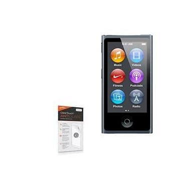 Protetor de tela para iPod Nano 7, BoxWave [ClearTouch antirreflexo (pacote com 2)] Película fosca anti-impressão digital para iPod Nano 7 da Apple