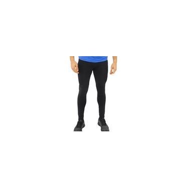Imagem de Calça Legging UV Masculina Proteção Solar Fitness Conforto Preto