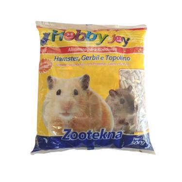 Ração para Hamster, Topolino e Roedores Hobby Joy Zootekna - 500 g
