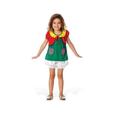 Imagem de Fantasia Chiquinha Infantil Turma dos Chaves Completa