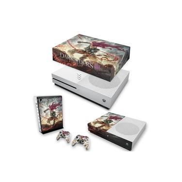 Capa Anti Poeira e Skin para Xbox One S Slim - Darksiders 3