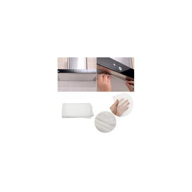 Exaustor de Cozinha Fogão Capô Grease Paper Filtro De Carbono Kit universal 10 Pcs