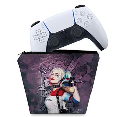Capa PS5 Controle Case - Arlequina Harley Quinn