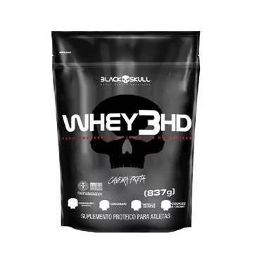 Whey Protein 3HD Refil - Black Skull