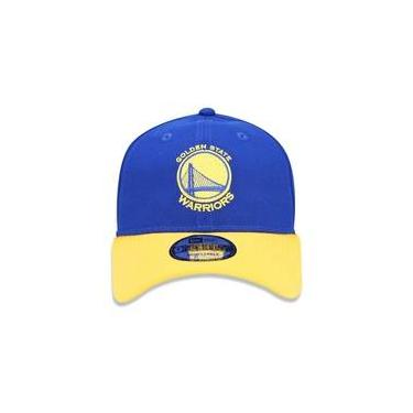 Bone 940 Golden State Warriors Nba Aba Curva Strapback Royal New Era e1f3dff0c75
