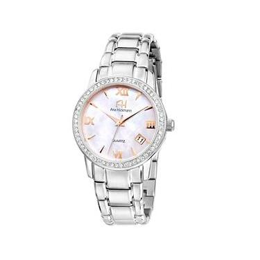 1ee1540c21e Relógio Feminino Analógico Ana Hickmann AH28642Q - Prata