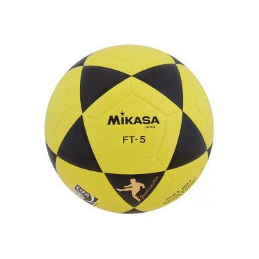 Bola de Futevôlei Mikasa FIFA FT-5 BKY - PRETO AMARELO Mikasa edfae1f958534