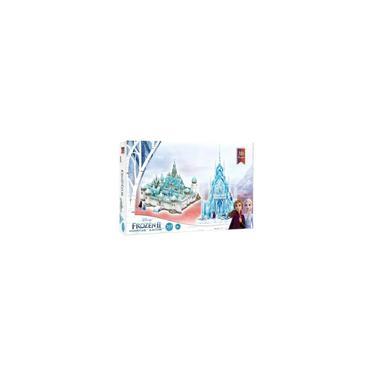 Imagem de Quebra Cabeca Detalhada Castelo Frozen E Arendelle 3d Importado