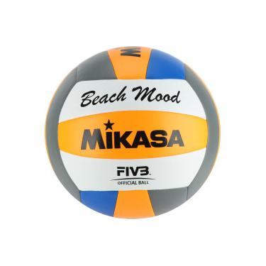 Bola de Vôlei de Praia Mikasa VXS BMD - LARANJA AZUL Mikasa d9076a92c669b