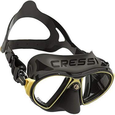 Máscara de Mergulho Cressi Zeus - Preto/dourado