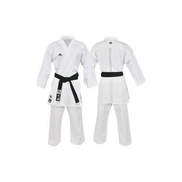 Kimono Karatê Club Branco K220c Com Selo Wkf-180