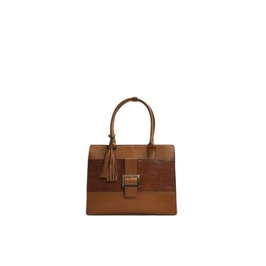 Bolsa Mão e Tiracolo Hand Bag Fivela Le Postiche