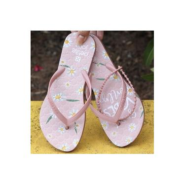 Chinelo Petite Jolie Rosa Roma/Good Vibes Only Chinelos Pj6036