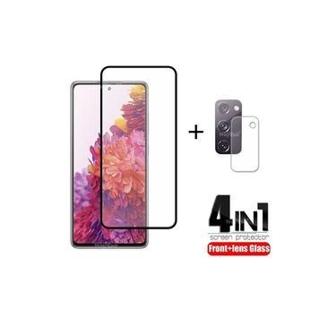 Kit 4 em 1 Película de Vidro Samsung Galaxy S20 FE
