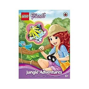 Imagem de Lego Friends - Jungle Adventures - Activity Book With Miniset