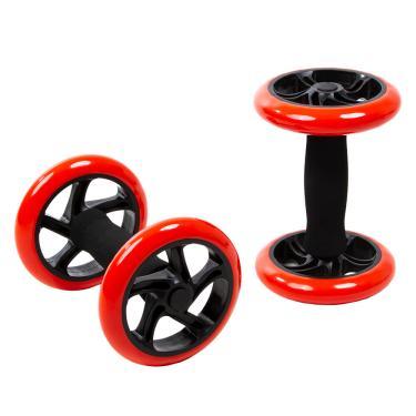 Roda Abdominal Dupla Core Wheel Par Yangfit