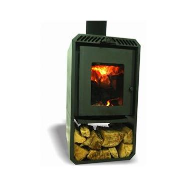 Calefator a Lenha de Dupla Combustão Aquecedor/Lareira - Estela Maris - 090