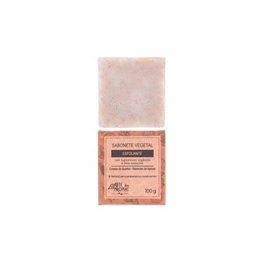 Sabonete Vegetal Esfoliante Natural Cristais de Quartzo 100g - Arte dos Aromas