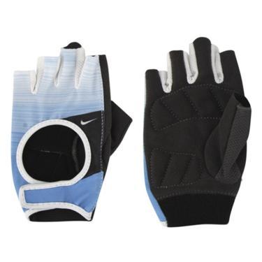 19b3d0598af Luva Nike Women s Fit Cross Training Gloves - Azul e Branco - G