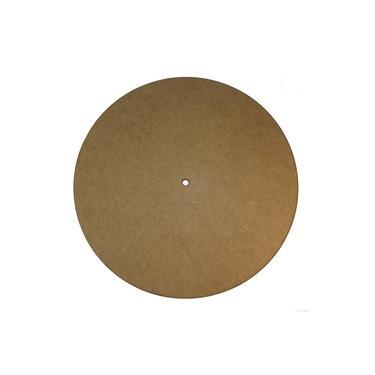 Relógio de Parede Redondo Liso 12x12cm - Palácio da Arte