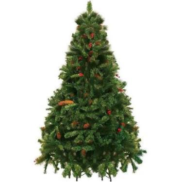 Árvore De Natal Decorada Alpina 180 Cm Yangzi