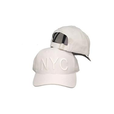 Boné NYC Fitão New York City Aba curva Snapback