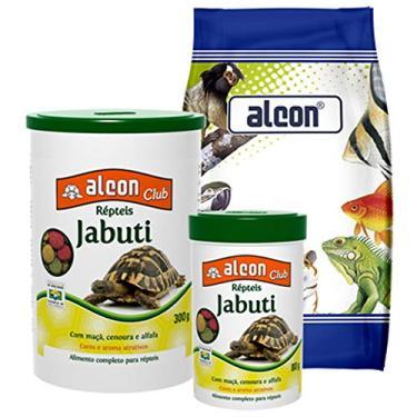 Alimento Alcon para Répteis Jabuti - 300g