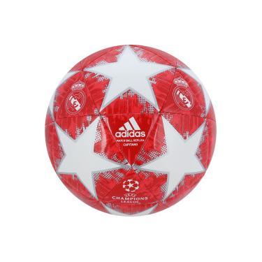 05312dcfd4 Bola de Futebol de Campo Real Madrid Champions League Finale 18 adidas -  VERMELHO BRANCO