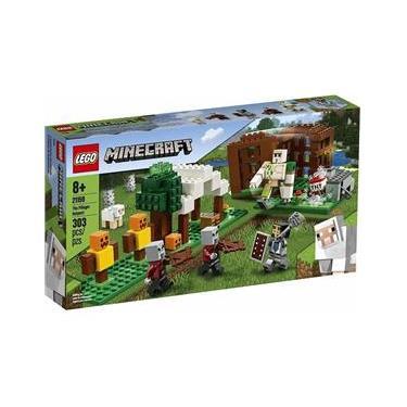 Lego Minecraft The Pillager Outpost 303 peças