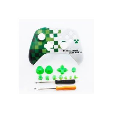 Placa frente Top Up Shell superfície da carcaça para a Xbox One S Controlador do jogo Capa