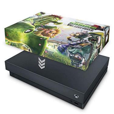 Capa Anti Poeira para Xbox One X - Plants Vs Zombies Garden Warfare