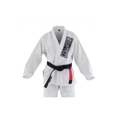 Kimono Jiu Jitsu BJJ Naja Brave Branco