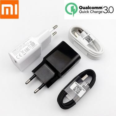 Origianl xiaomi carregador rápido qc 3.0 18 w carga rápida adaptador de energia usb para mi 8 9 se