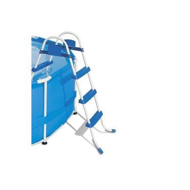 Imagem de Escada Para Piscina Bel Lazer 3 Degraus Antiderrapante 97cm