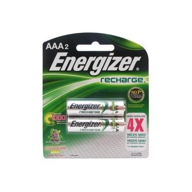 Pilha Energizer Recarregavel AAA2 com 4x Mais Duraçao 1,2Vcc