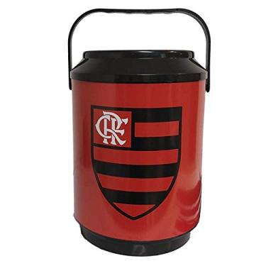 Cooler Flamengo Para 10 Latas Onde Estiver Estarei UN