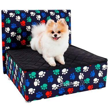 Cama para Cachorro e Gato Caminha Box Pet + Cabeceira BF Colchões