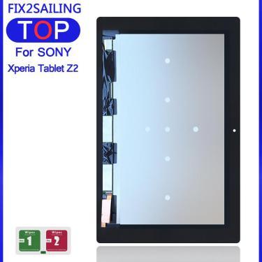 10.1 para o Sony Xperia Tablet Z2 SGP511 SGP512 SGP521 SGP541 Sensores de LCD Screen Display Toque