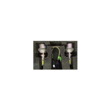 Kit De Farol Para Carro Automotivo Lanterna Lampada Super Led H7 50w com reator Branca 6000k