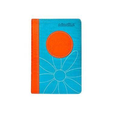 A Bíblia da Garota de Fé - Laranja e Azul - Mundo Cristão - 9788573258479